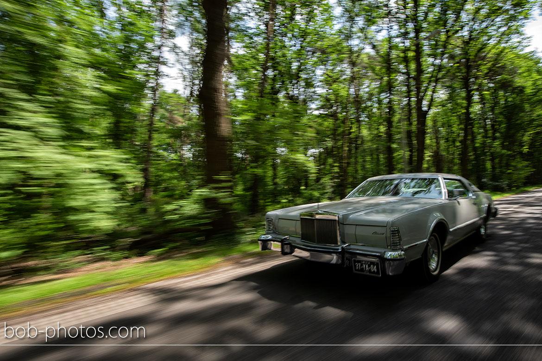 Lincoln Continental Mark IV Bruidsfotografie Schijf