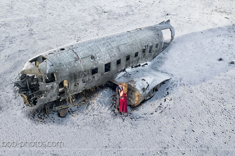 Crashed DC 3 Loveshoot Iceland