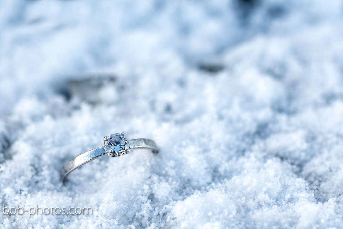 diamond ring snow Loveshoot Iceland