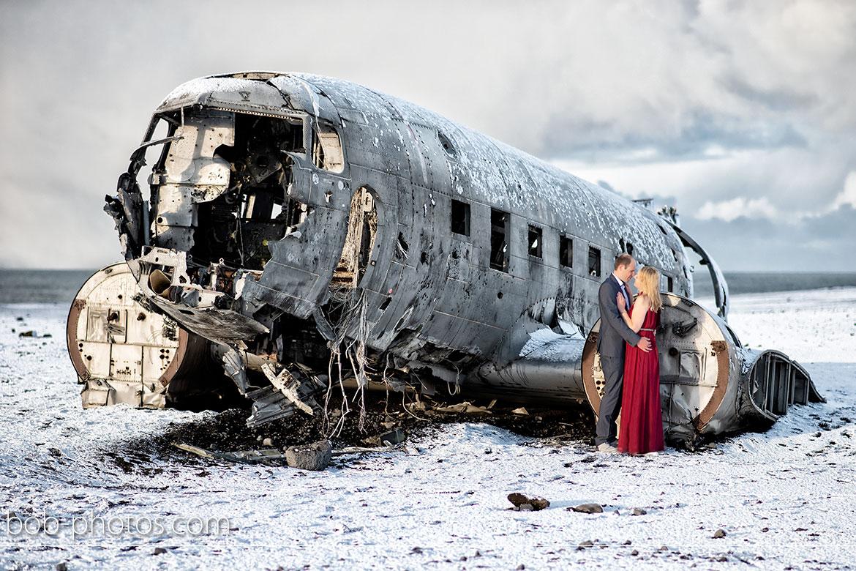 Neergestorte DC-3 Loveshoot IJsland