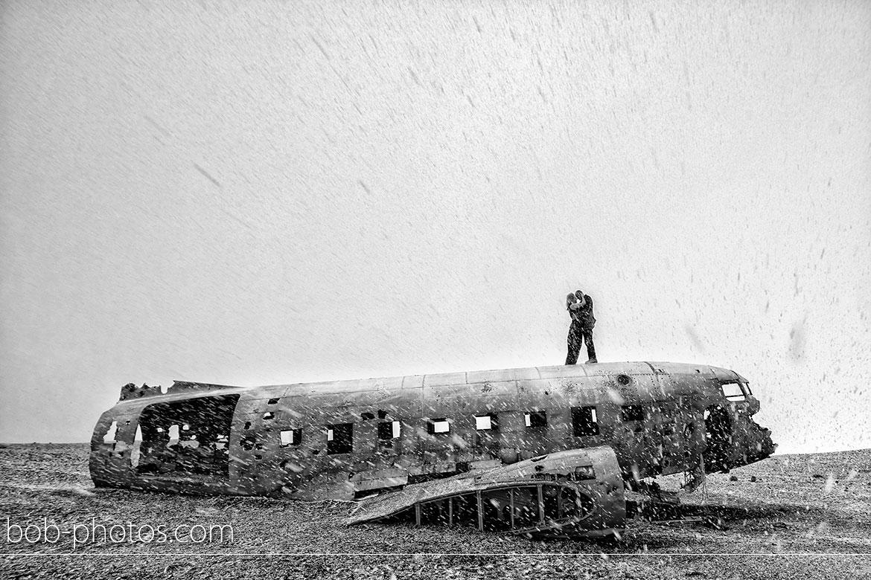 Wreckage DC-3 Loveshoot Iceland