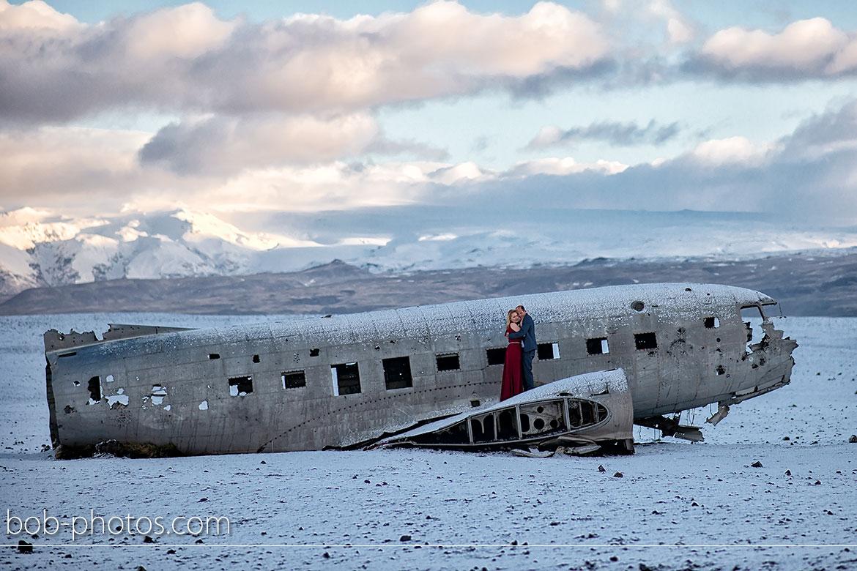 Vliegtuigwrak DC 3 Loveshoot IJsland