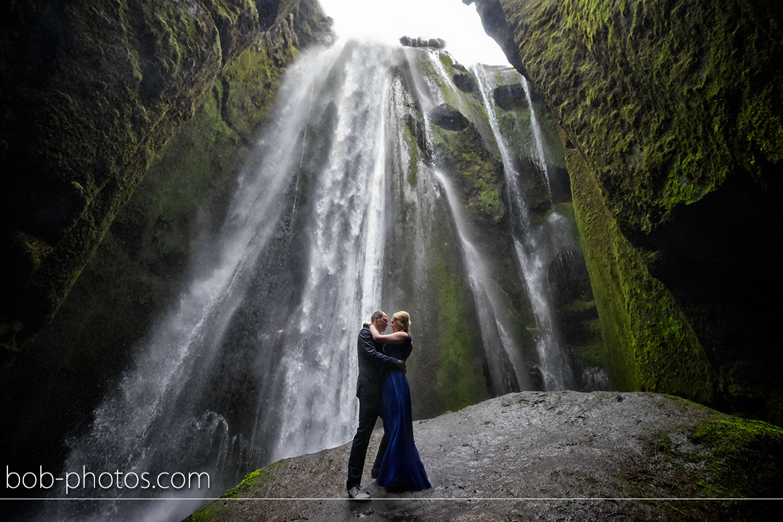 Gljúfrabúi waterfall Loveshoot Iceland