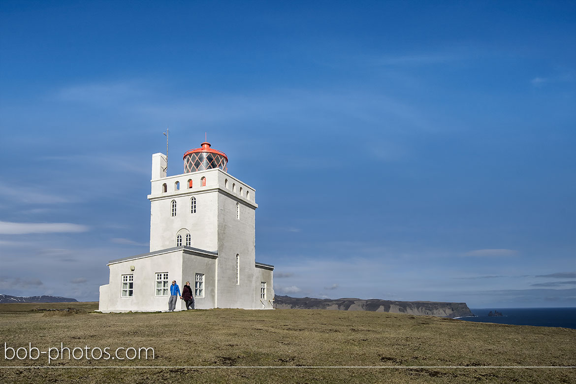 Dyrhólaey Lighthouse Iceland Loveshoot IJsland
