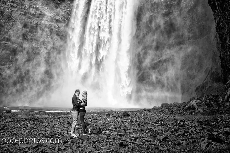Skogafoss waterval Loveshoot IJsland
