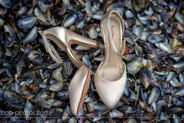 Rainbow schoenen Bruidsfotografie Yerseke Zeeland