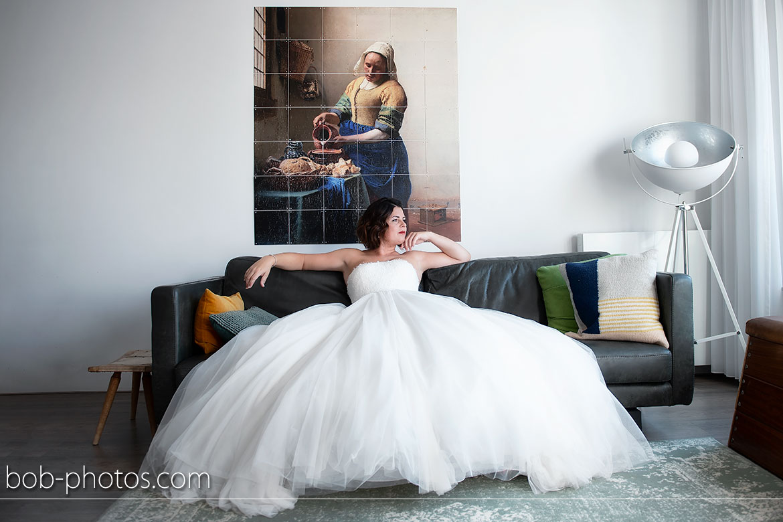 Het melkmeisje Bruidsfotografie Bergen op Zoom