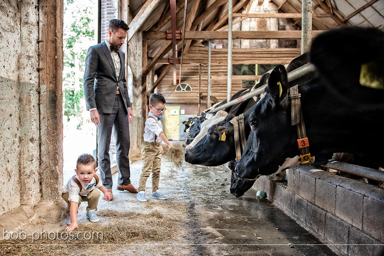 Koeienstal Bruidsfotografie Bergen op Zoom