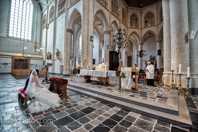 Sint-Gertrudiskerk Bruidsfotografie Bergen op Zoom