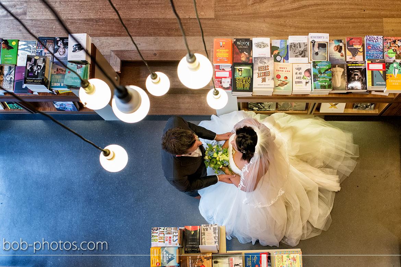 Boekenwinkel Bruidsfotografie Bergen op Zoom