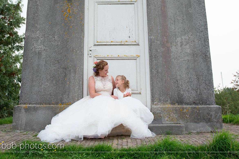bruidsfotograaf beneden sas