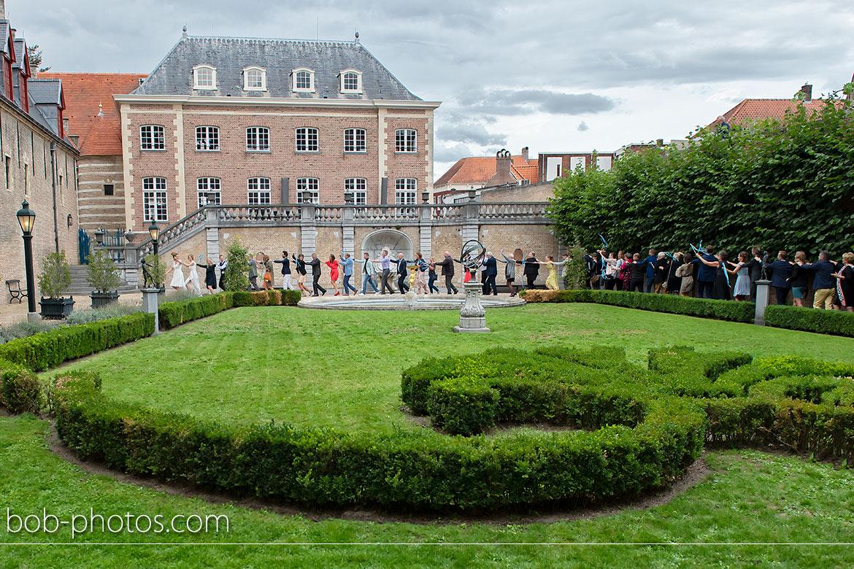 markiezenhof franse tuin trouwfotografie Bergen op Zoom