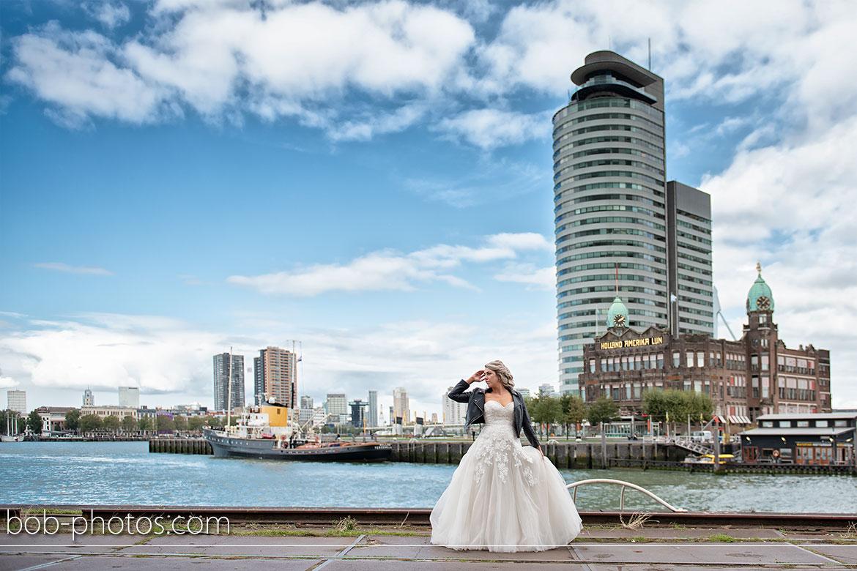 Stephanie's Bruidsboutique Spijkenisse hotel new york bruidsfotografie Rhoon