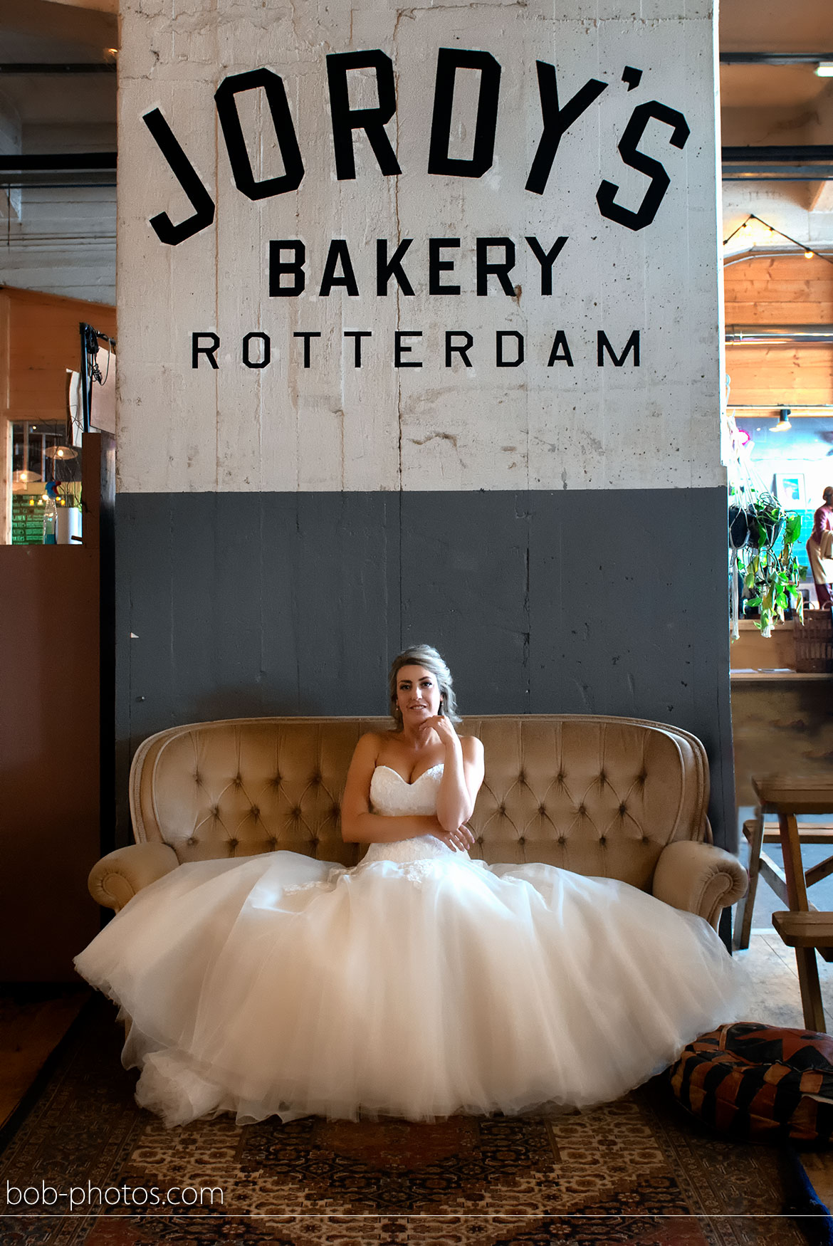 Stephanie's Bruidsboutique Spijkenisse jordy's bakery rotterdam bruidsfotografie Rhoon