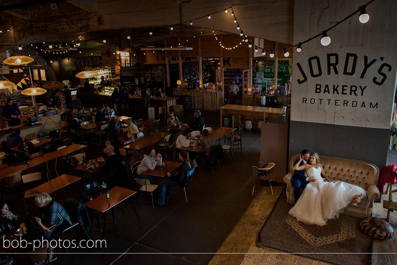 jordy's bakery rotterdam bruidsfotografie Rhoon