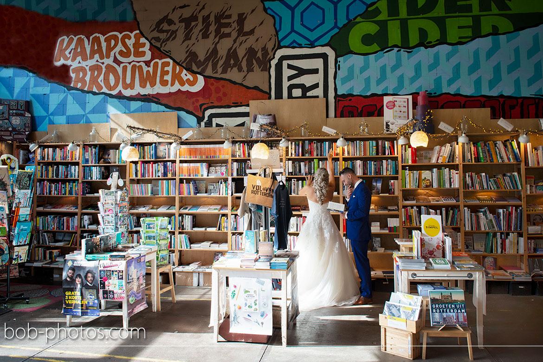 Boekverkopers Bosch & de Jong Rotterdam bruidsfotografie Rhoon