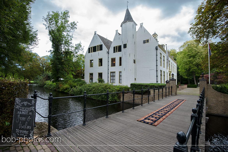 bruidsfotografie kasteel Rhoon