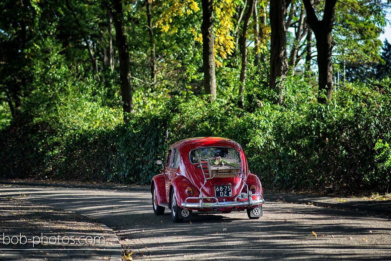 VW Rode Kever Bruidsfotografie Roosendaal