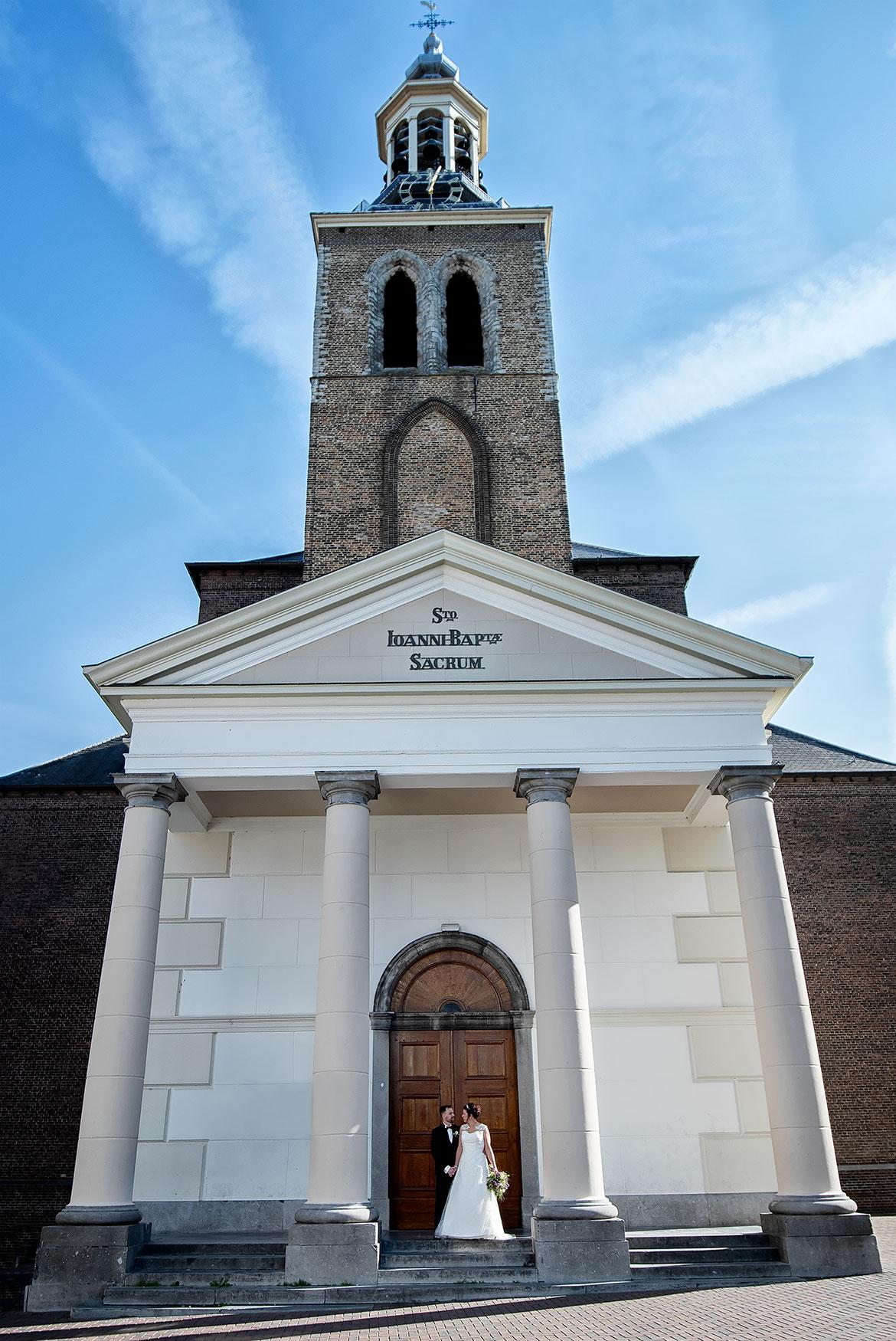 Sint-Janskerk Bruidsfotografie Roosendaal