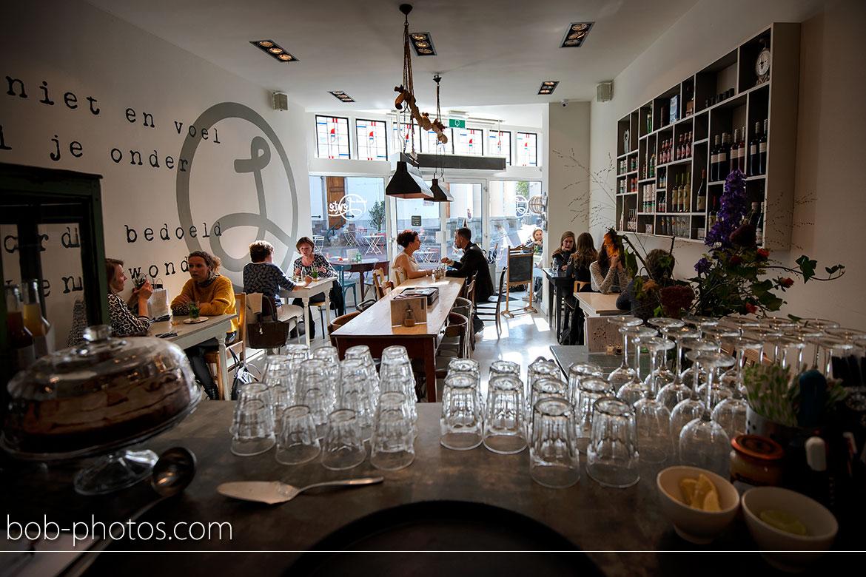 Lunchcafe Lente Bruidsfotografie Roosendaal
