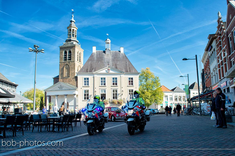 Trouwen raadhuis  Bruidsfotografie Roosendaal