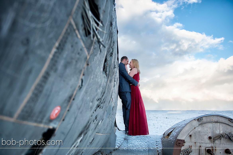 Vliegtuigwrak DC 3 Loveshoot Iceland