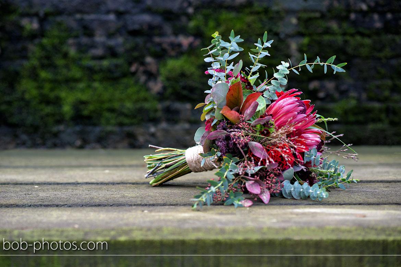 Pure&trust bruidsboeket Bruidsfotografie Hellevoetsluis