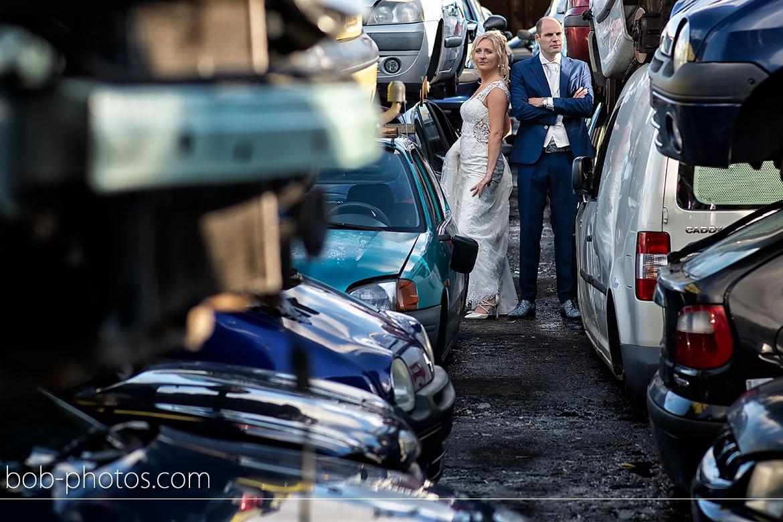 Autosloperij De Molshoek Bruidsfotografie Hellevoetsluis