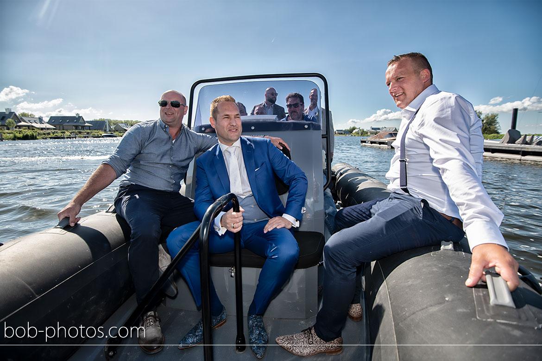 Bruidsfotografie Oesterdam RIB Powerboat