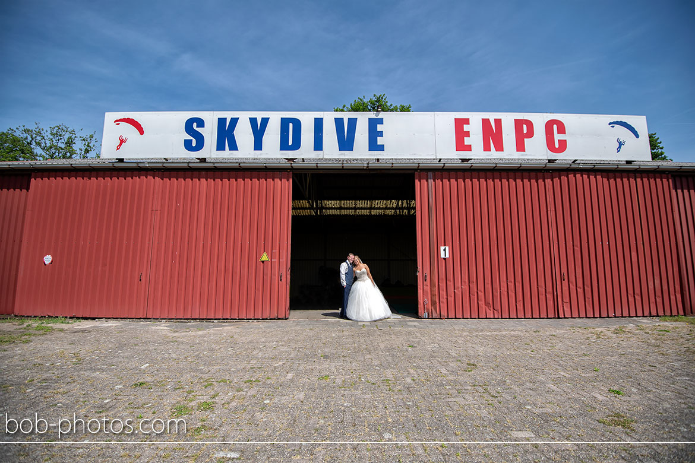 Bruidsfotografie Skydive ENPC