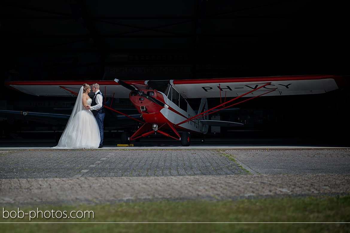 Bruidsfotografie Seppe Breda International Airport Piper