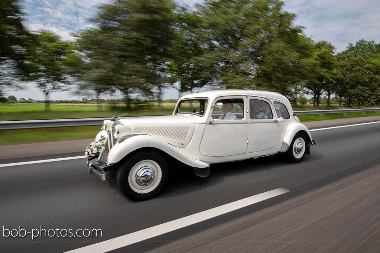 bruidsfotografie Citroën Traction Avant Oldtimer
