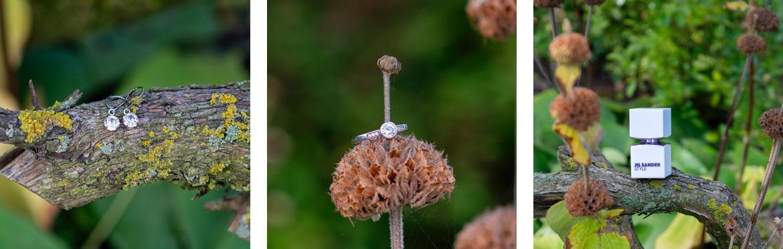 Jil Sander Style bruidsfotografie