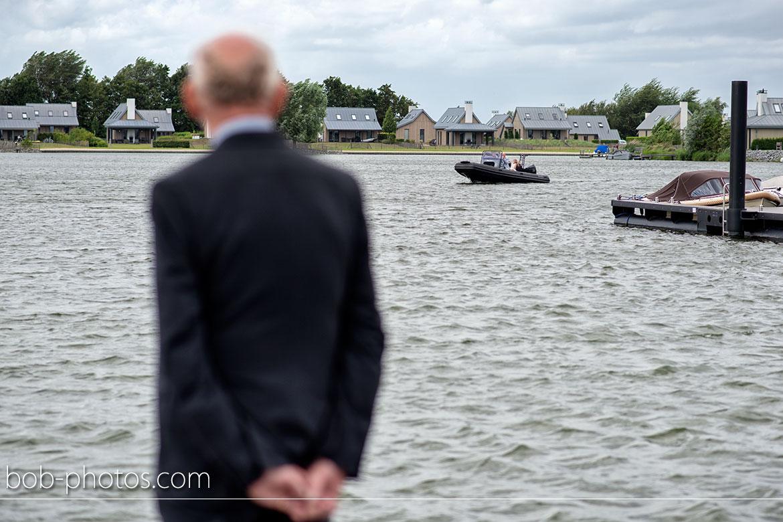 RIB Powerboat Trouwen op de Oesterdam