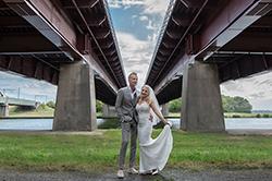 Bruidsfotografie Oesterdam Waterrijk