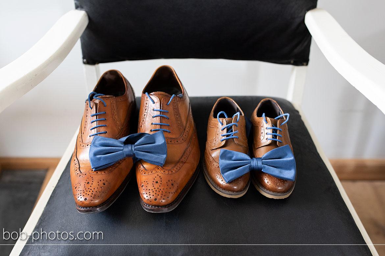 Bruidsfotografie schoenen van Floris van Bommel