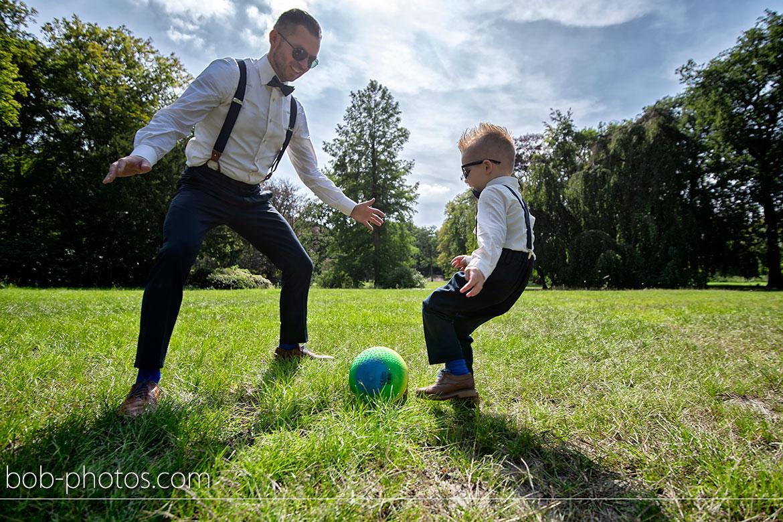 Bruidsfotografie voetballen