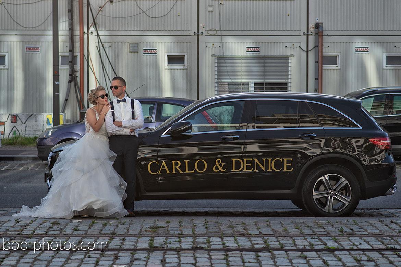 Bruidsfotografie Mercedes Benz GLC 350 E