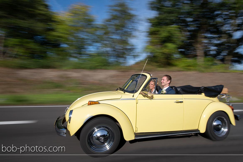 Bruidsfotografie Volkswagen Kever Cabriolet