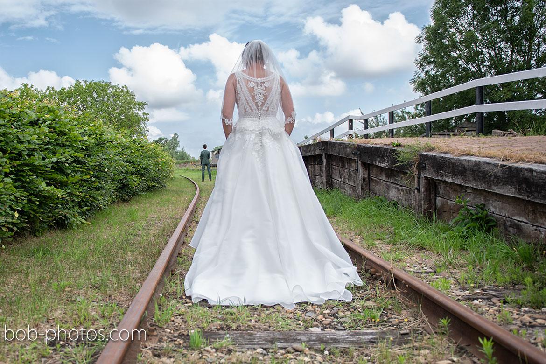Bruidsfotografie Station Kwadendamme