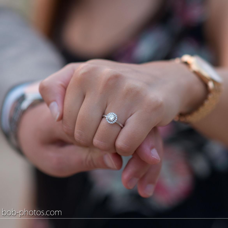 Loveshoot verlovingsring