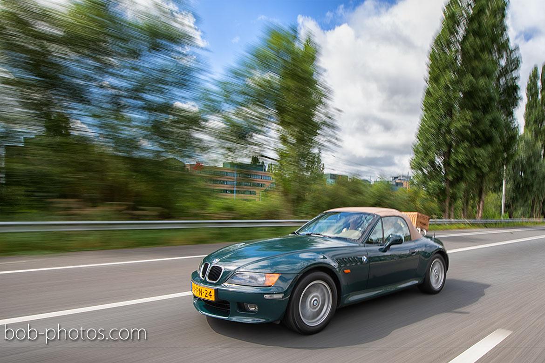 BMW Z3 Bruidsfotografie