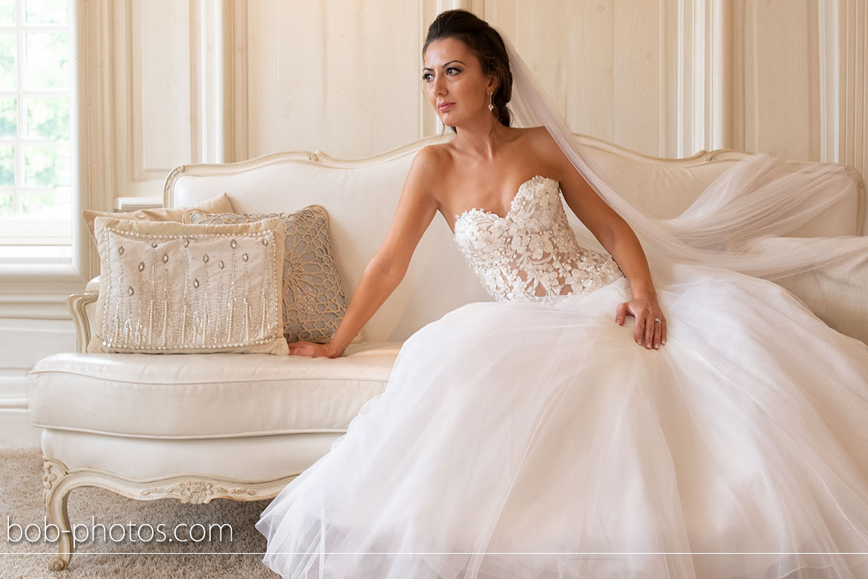 Bruidsfotografie Witte Salon