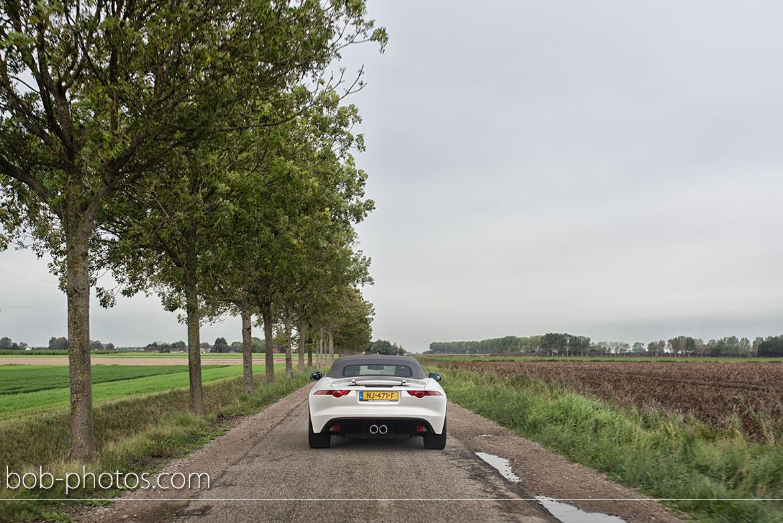 Bruidsfotografie Jaguar F-Type