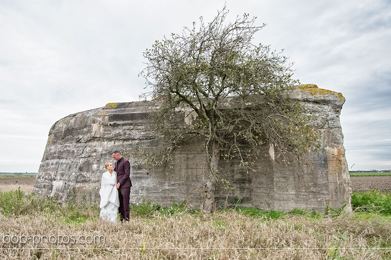 Bruidsfotografie Bunker