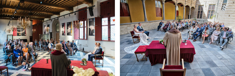 Bruiloft in de Markiezenhof