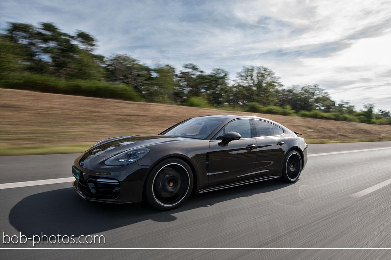 Bruidsfotografie Porsche Panamera